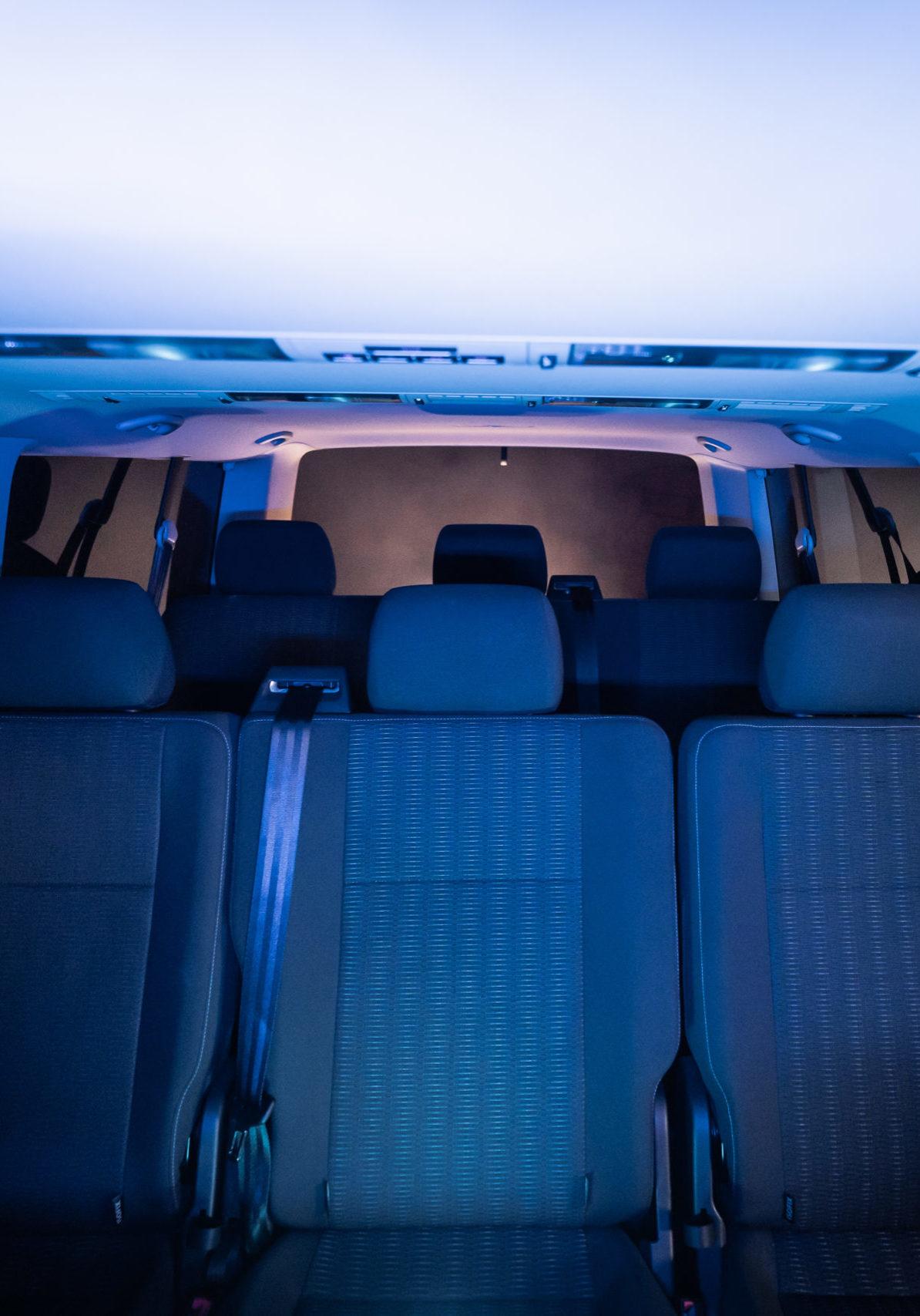 Location Minivan avec Chauffeur